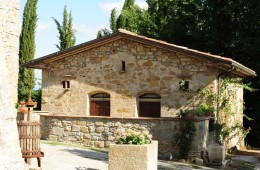 The origins of the Sasso farmhouse in Anghiari, province of Arezzo, Tuscany